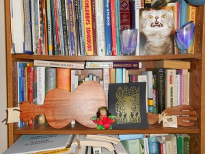 week two book shelf